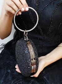 Black - Satchel - Clutch - Clutch Bags / Handbags