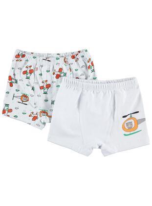 White - Baby Underwear Set