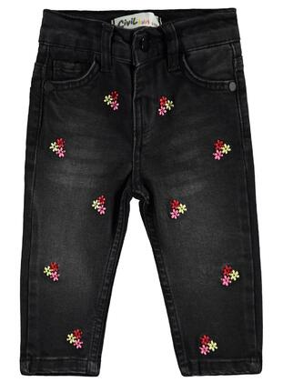 Black - Baby Pants - Civil