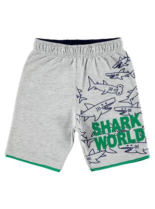 Green - Boys` Shorts