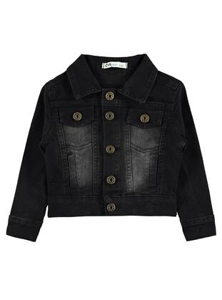 Black - Boys` Jacket - Civil