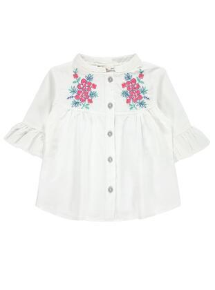 White - Girls` Shirt - Civil
