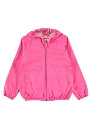 Fuchsia - Girls` Raincoat