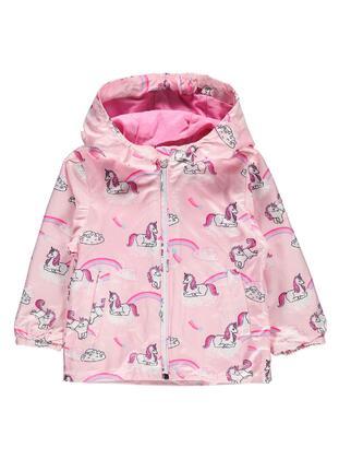 Pink - Girls` Raincoat - Civil