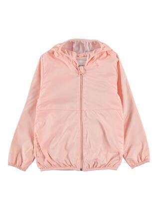 Pink - Girls` Raincoat