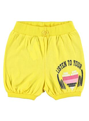 Yellow - Girls` Shorts - Civil