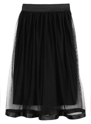 Black - Girls` Skirt - Civil