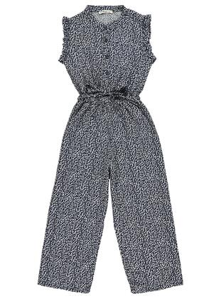 Navy Blue - Girls` Salopettes & Jumpsuits