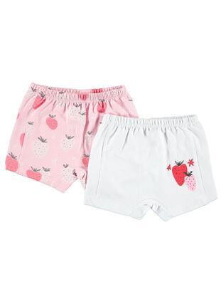 White - Baby Underwear Set - Civil