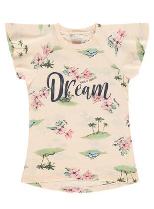 Salmon - Girls` T-Shirt