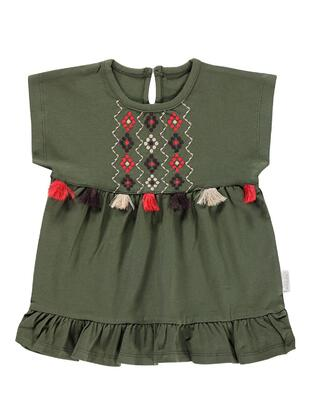 Khaki - Baby Dress