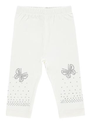 Ecru - baby tights - Civil