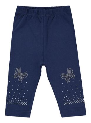 Navy Blue - baby tights