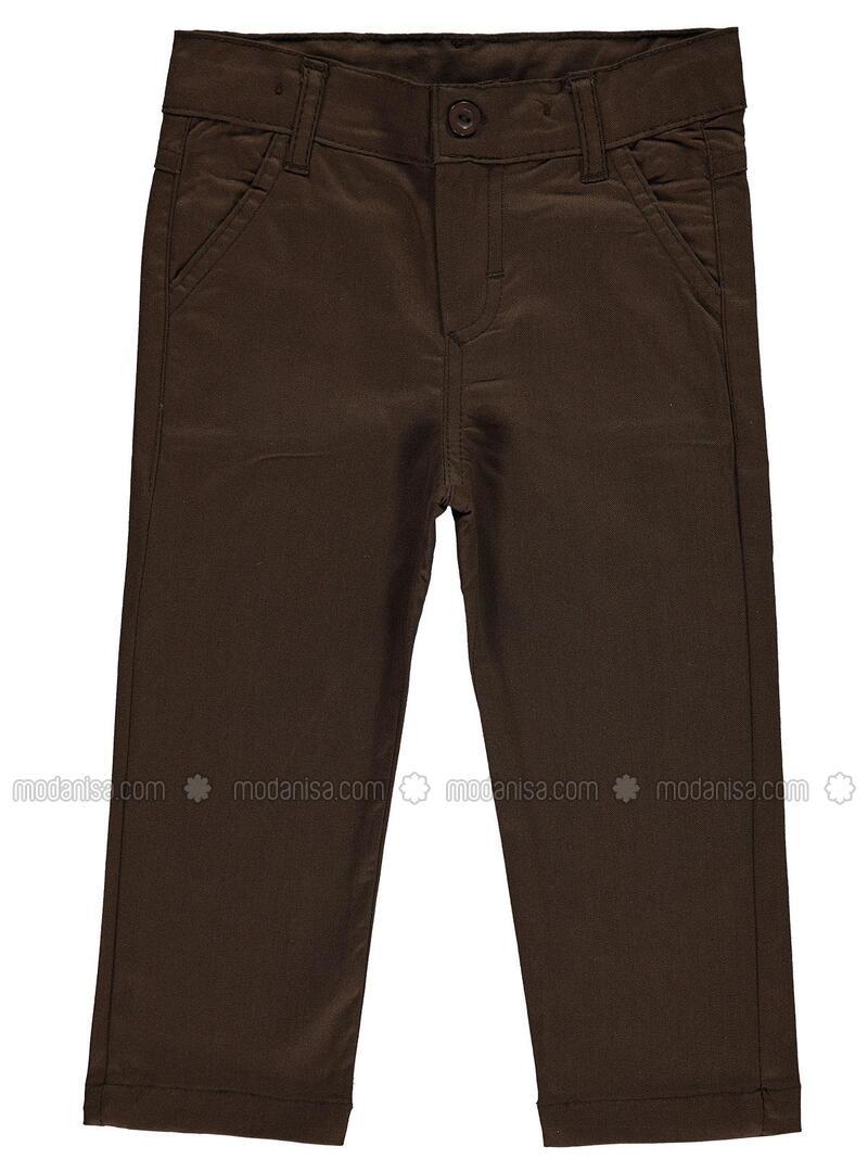 Brown - Boys` Pants