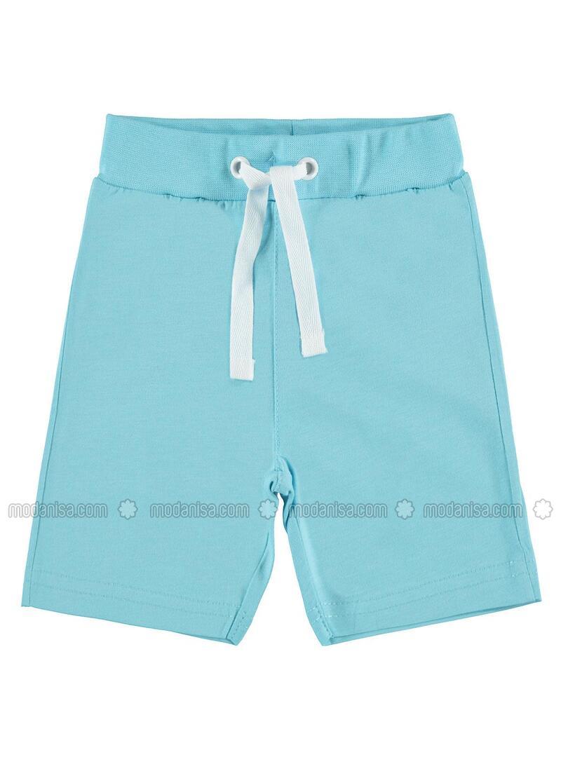 Turquoise - Baby Shorts