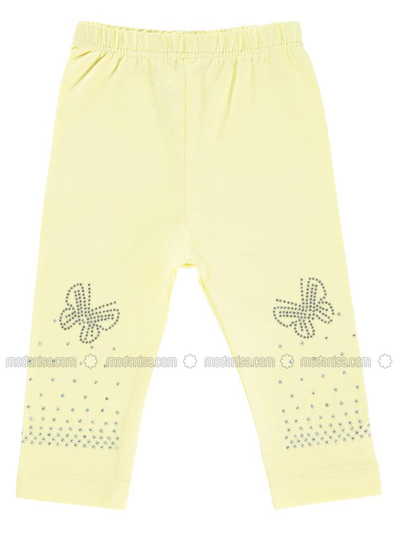 Yellow Baby Tights
