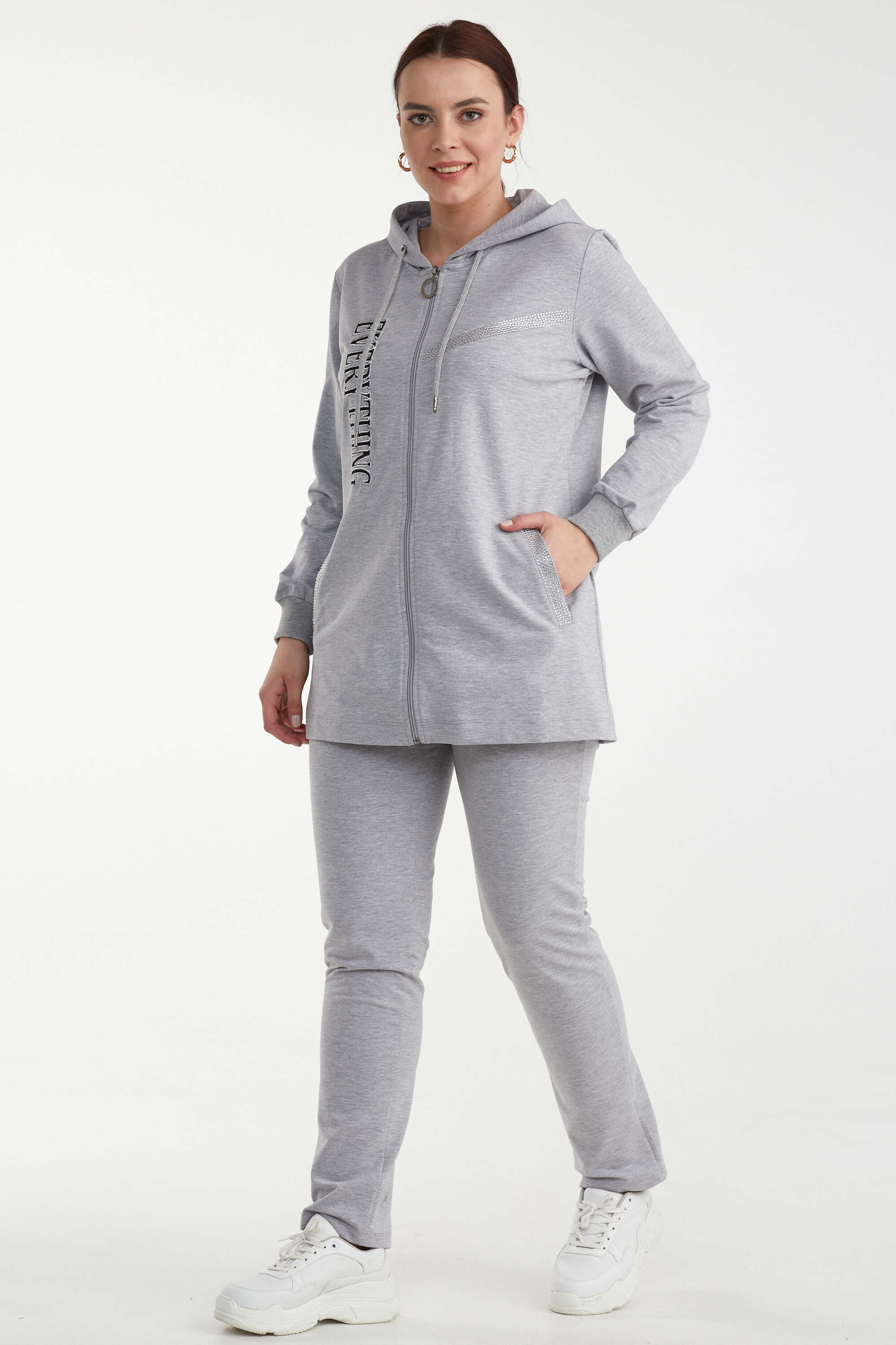 Suit Sementa Gray