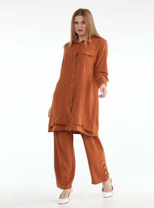 Tan - Suit