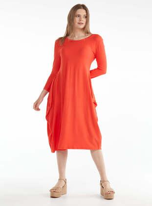 Coral - Dress