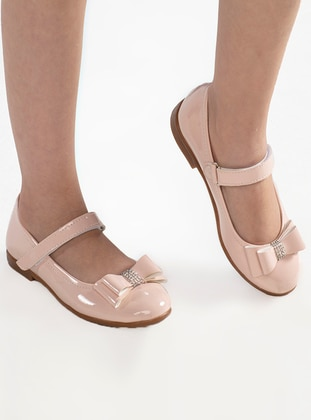 Pink - Flat - Girls` Flat Shoes