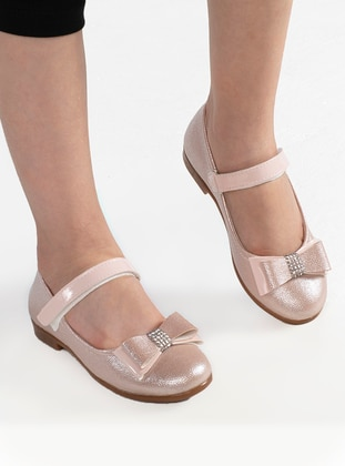 Salmon - Flat - Girls` Flat Shoes
