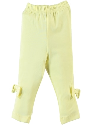 Yellow - baby tights