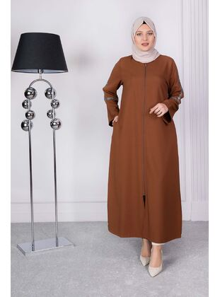 Multi - Plus Size Evening Abaya