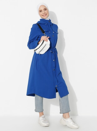 Saxe - Polo neck - Trench Coat