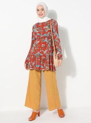 Yellow -  - Pants