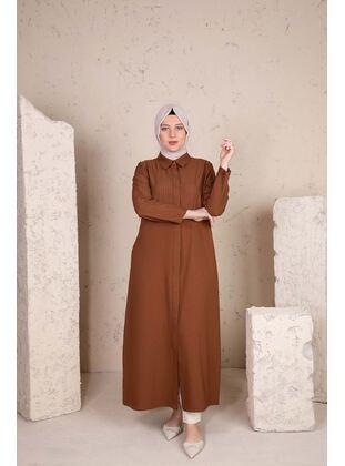 Multi - Plus Size Evening Abaya - BEHREM