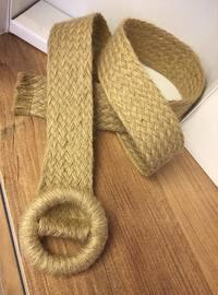 Beige - Straw - Belt
