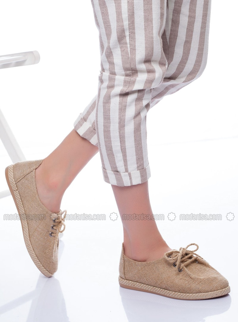 Nude - Flat - Flat Shoes