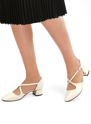 Nude - Flat - High Heel - Flat Shoes
