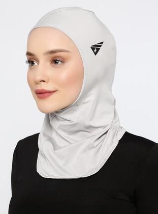 Gray - Plain - Simple - Bonnet