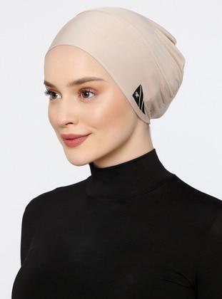 Mink - Plain - Simple - Bonnet - Ecardin
