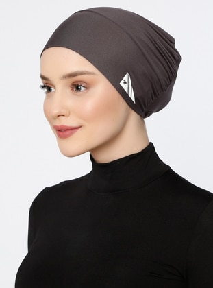 Anthracite - Plain - Simple - Bonnet