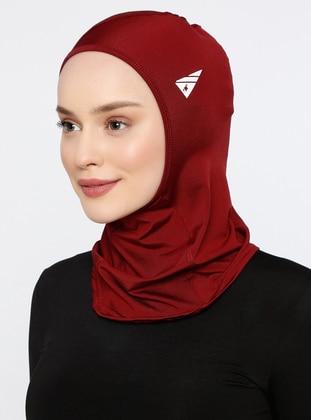Maroon - Plain - Simple - Bonnet