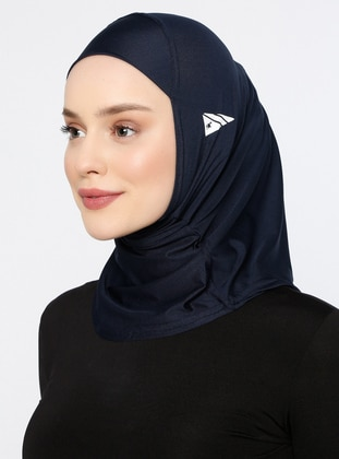 Navy Blue - Plain - Simple - Bonnet