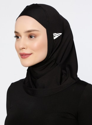 Black - Plain - Simple - Bonnet - Ecardin