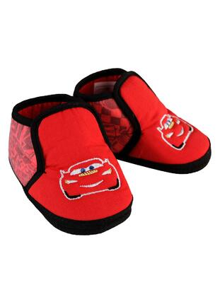 Red - baby booties