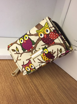 White - Clutch - Wallet - Kabile