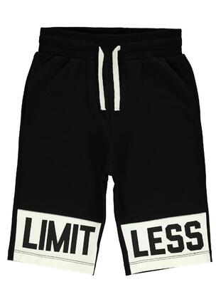 Black - Boys` Shorts - Civil