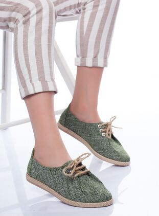 Green - Sports Shoes