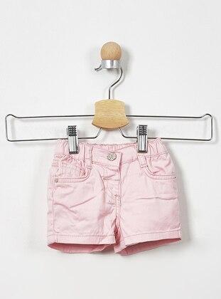 - Pink - Baby Shorts