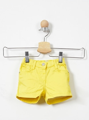 - Yellow - Baby Shorts