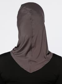 Anthracite - Plain - Simple - Bonnet