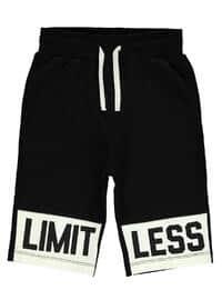 Black - Boys` Shorts