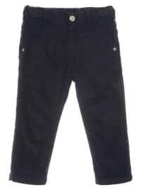 - Navy Blue - Boys` Pants