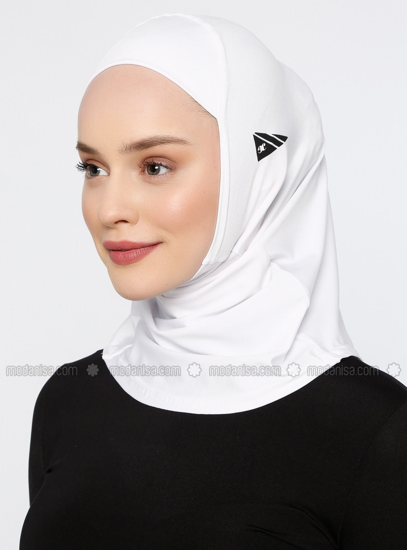 White - Sports Bonnet