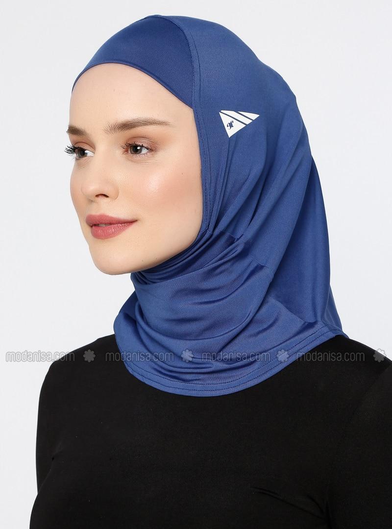 Blue - Plain - Simple - Bonnet
